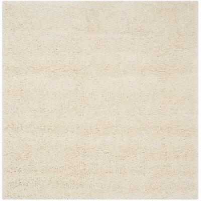 Yoan Ivory Area Rug Rug Size: Square 4