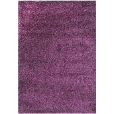 Malina Purple Area Rug Rug Size: Rectangle 53 x 76