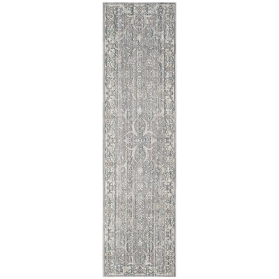 Filton Mauve/Cream Area Rug Rug Size: Runner 23 x 8