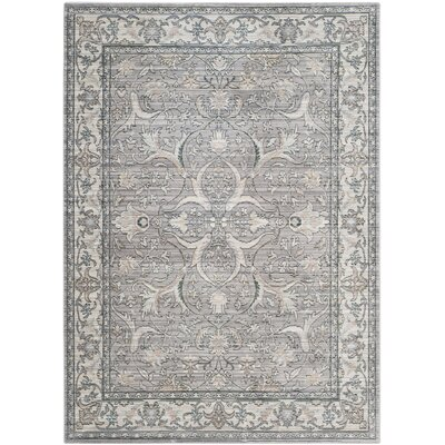 Filton Mauve/Cream Area Rug Rug Size: Rectangle 6 x 9