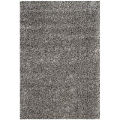 Soraya  Gray Area Rug Rug Size: Square 4
