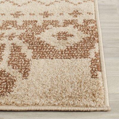 St. Ann Highlands Camel/Chocolate Area Rug Rug Size: 4 x 6