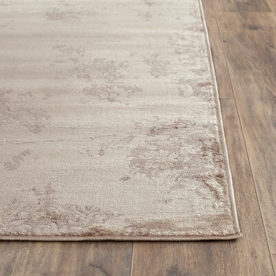Vintage Ivory/Gray Area Rug Rug Size: Runner 22 x 8