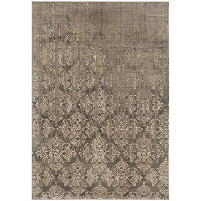 Valmer Mouse Oriental Gray Area Rug Rug Size: Rectangle 33 x 57
