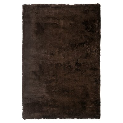 Stellan Flokati Chocolate Outdoor Area Rug Rug Size: Rectangle 2 x 3