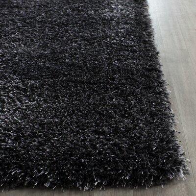 Soraya Black Area Rug Rug Size: Square 4