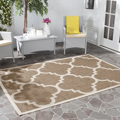 Octavius Brown Indoor Area Rug Rug Size: Rectangle 4 x 57