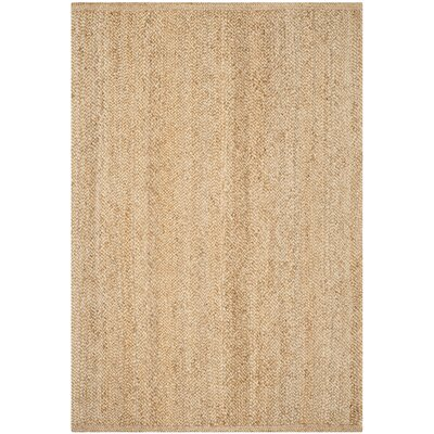 Greene Hand-Woven Natural Area Rug Rug Size: Rectangle 6 x 9
