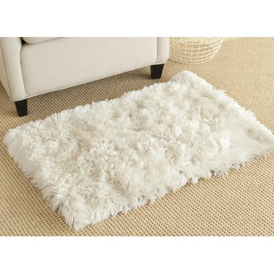 Chantrell Hand-Tufted/Hooked Ivory Area Rug Rug Size: Rectangle 23 x 39