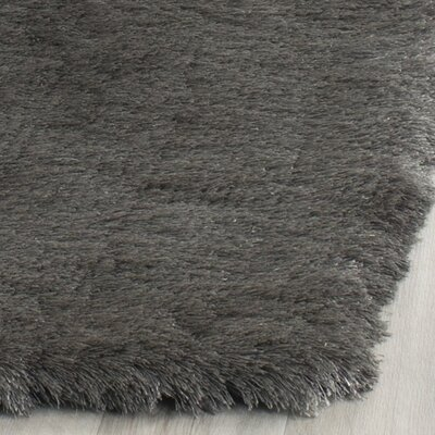 Montpelier Hand-Tufted/Hand-Hooked Titanium Area Rug Rug Size: Runner 23 x 6