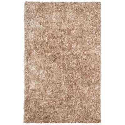 Maya Hand-Tufted Beige Area Rug Rug Size: Rectangle 4 x 6