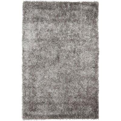 Cheevers Handmade Gray Area Rug Rug Size: Rectangle 5 x 8