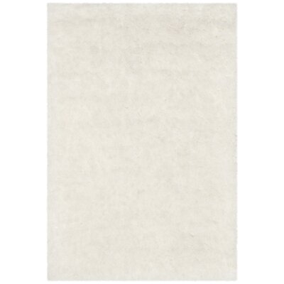 Chantrell Hand-Tufted/Hooked Ivory Area Rug Rug Size: Rectangle 86 x 12