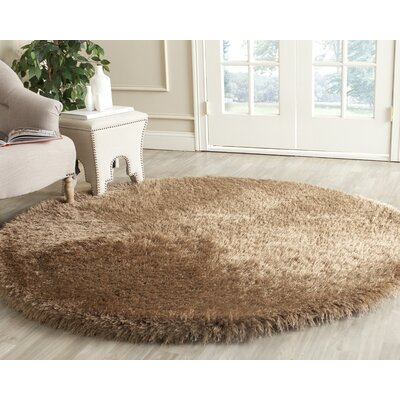 Armbruster Hand-Tufted Taupe Area Rug Rug Size: Rectangle 6 X 9
