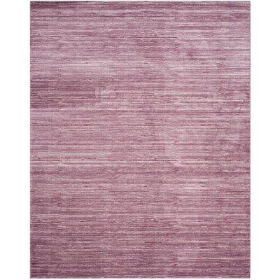 Harloe Purple Area Rug Rug Size: Rectangle 3 x 5