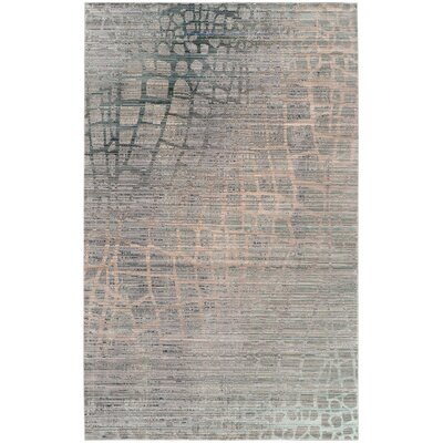 Boathaven Gray Area Rug Rug Size: Rectangle 9 x 12