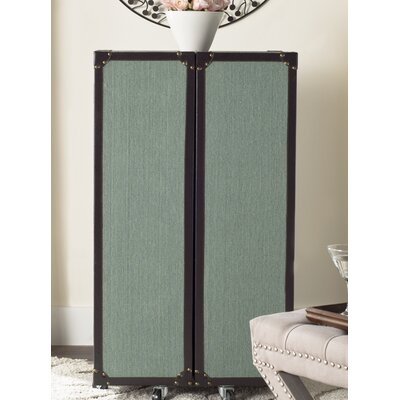 Grayson Bar Cabinet with Wine Storage Finish: Sage