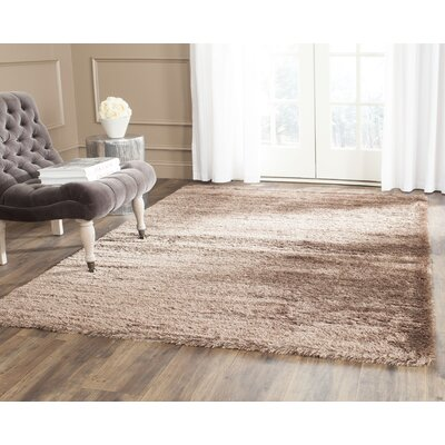Vanessa Dark Brown Area Rug