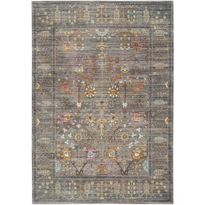 Bernardyn Gray/Multi Area Rug Rug Size: Rectangle 5 x 8