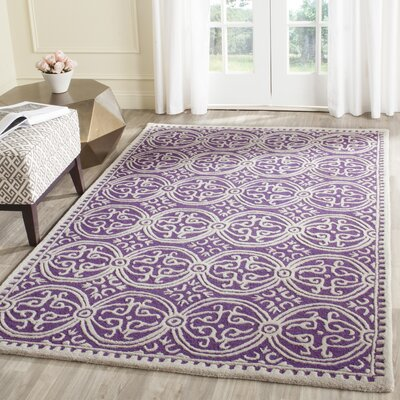 Fairburn Purple   Area Rug Rug Size: Rectangle 2'6
