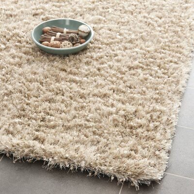 Maya Hand-Tufted/Hand-Hooked Brown Area Rug Rug Size: Rectangle 26 x 4