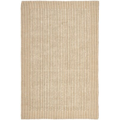 Heyburn Ivory/Beige Area Rug Rug Size: Rectangle 5 x 8