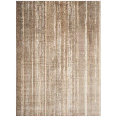 Denning Brown Area Rug Rug Size: Rectangle 67 x 92