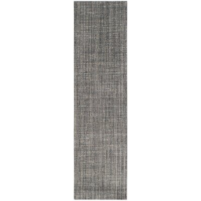 Boathaven Gray/Blue Area Rug Rug Size: Runner 23 x 8