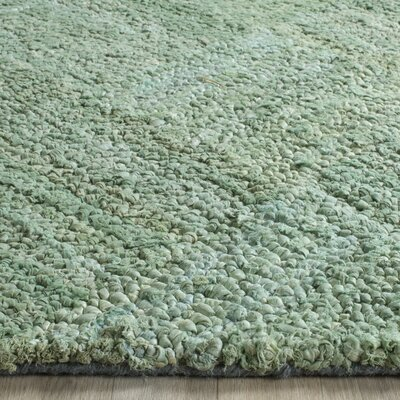 Millia Hand-Tufted Green Area Rug Rug Size: Rectangle 9 x 12