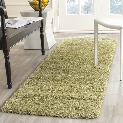 Starr Hill Green Area Rug Rug Size: Rectangle 23 X 9