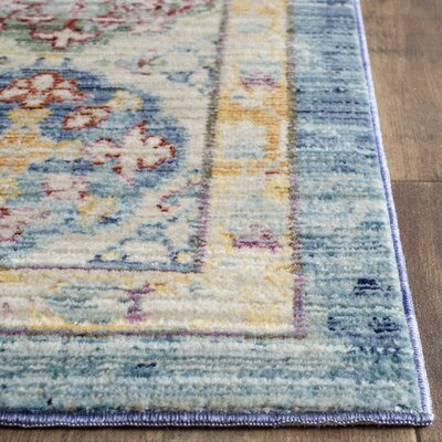 Doline Oriental Area Rug Rug Size: Rectangle 5 x 8