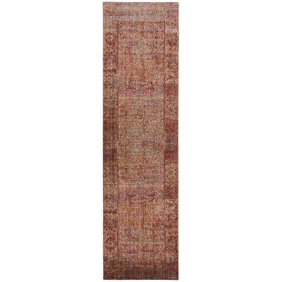 Koch Fuchsia Area Rug Rug Size: Runner 23 x 8