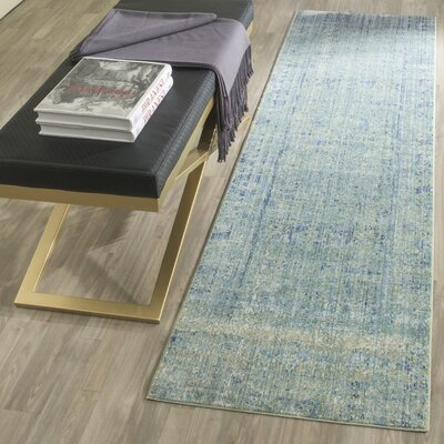 Celeta Green Area Rug Rug Size: Rectangle 9 x 12