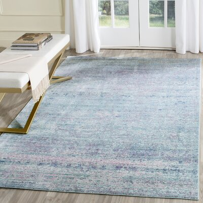 Mulhall Purple/Blue Area Rug Rug Size: Rectangle 3 x 5