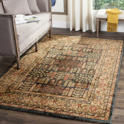 Coleraine Brown Area Rug Rug Size: Rectangle 51 x 77