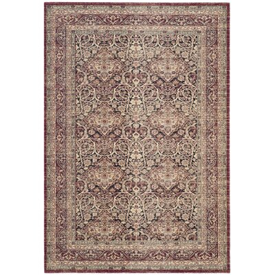 Marion Brown Area Rug Rug Size: Rectangle 4 x 6