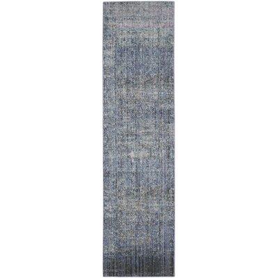 Shane Blue/Gray Area Rug Rug Size: Runner 23 x 8