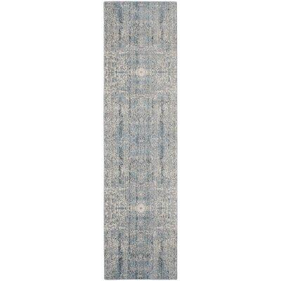 Celeta Teal Area Rug Rug Size: Runner 23 x 8