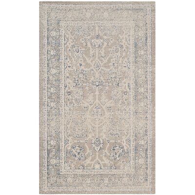 Patina Gray Area Rug Rug Size: Rectangle 4 x 6