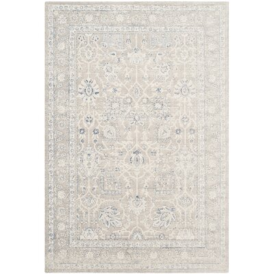 Patina Gray Area Rug Rug Size: Rectangle 51 x 76
