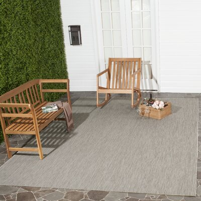 Adelia Beige Indoor/Outdoor Area Rug Rug Size: Runner 23 x 12