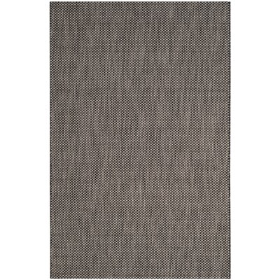 Mullen Black/Beige Area Rug Rug Size: Rectangle 53 x 77