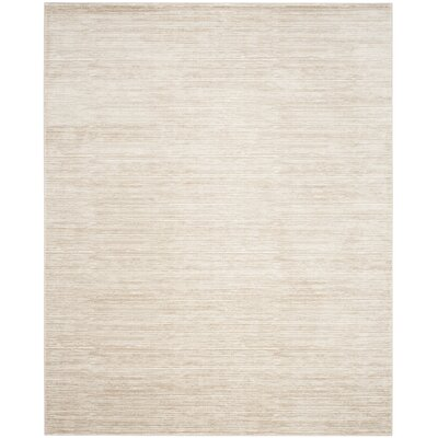 Harloe Ivory/Cream Area Rug Rug Size: Rectangle 6 x 9