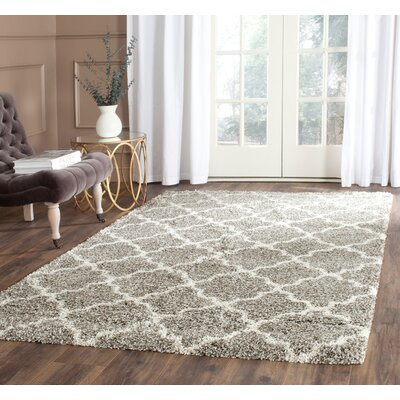 Klar Gray Area Rug Rug Size: Rectangle 3 x 5