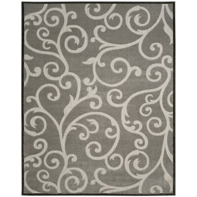Bryan Gray Indoor/Outdoor Area Rug Rug Size: 4 x 6