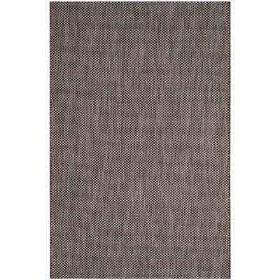 Mullen Black/Beige Area Rug Rug Size: Rectangle 4 x 57
