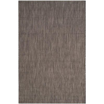 Mullen Black/Beige Area Rug Rug Size: Rectangle 2 x 37