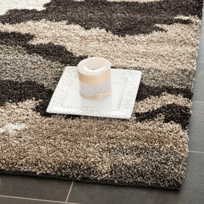 Hanover Beige/Brown Area Rug Rug Size: Rectangle 33 x 53