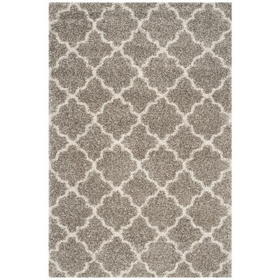 Klar Gray Area Rug Rug Size: Rectangle 6 x 9
