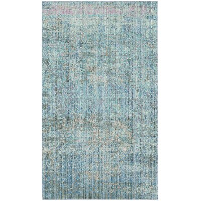 Shane Blue Area Rug Rug Size: Rectangle 9 x 12